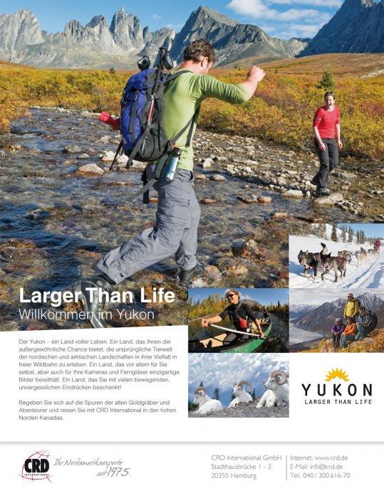 1/1 Seite Printanzeige - Yukon