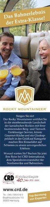 1/3 Anzeige Rocky Mountaineer