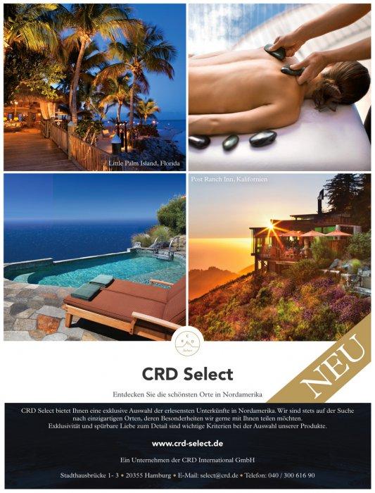 1/1 Seite Printanzeige - CRD Select