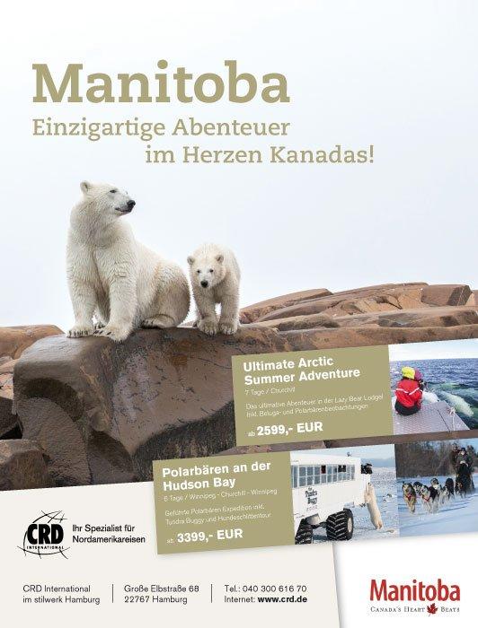 1/1 Seite Printanzeige Anzeige Manitoba