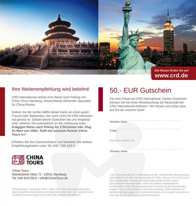 China Tours Folder innen