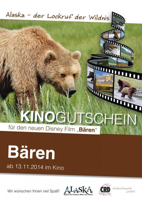 Kino Gutschein Alaska vorne