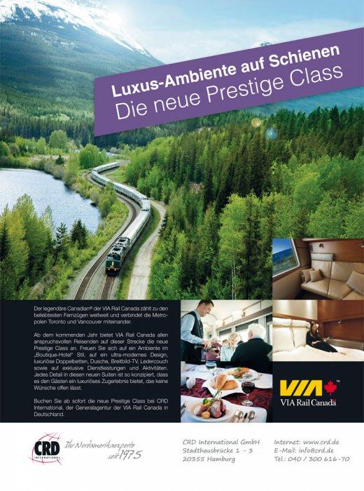 1/3 Anzeige - VIA Rail