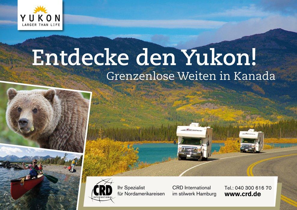 Plakat Großfläche Yukon