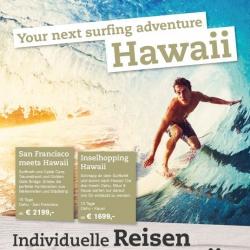 1/1 Seite Printanzeige Anzeige Hawaii
