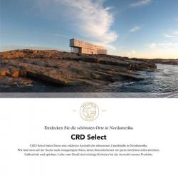 1/1 Seite Printnzeige CRD Select